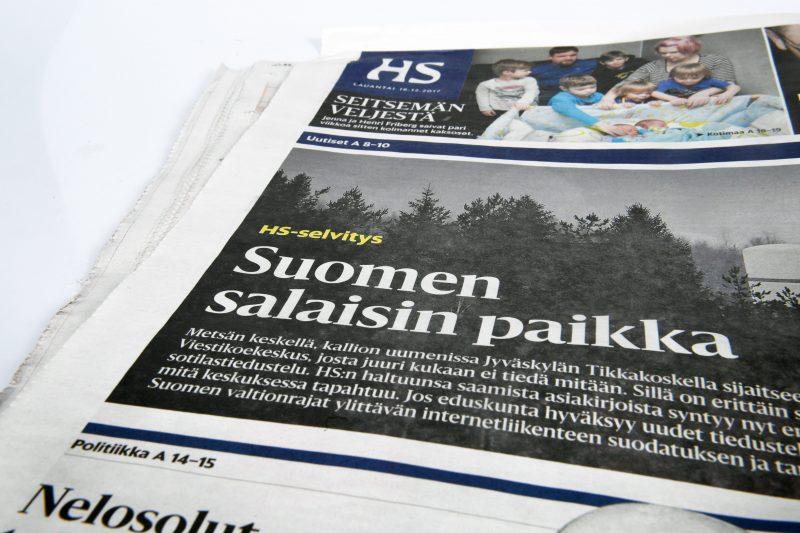 Poliisi: HS:n toimittajan valitus kotietsinnästä salattava